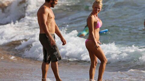 DIAPO Pamela Anderson: romance à la plage avec son… ex-mari