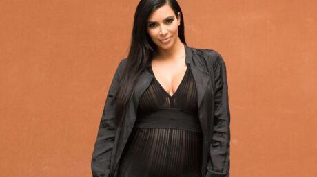 Kim Kardashian connaîtrait déjà le prénom de son futur bébé