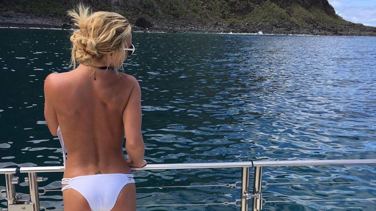 PHOTO Britney Spears pose topless (et affiche un corps toujours plus mince)