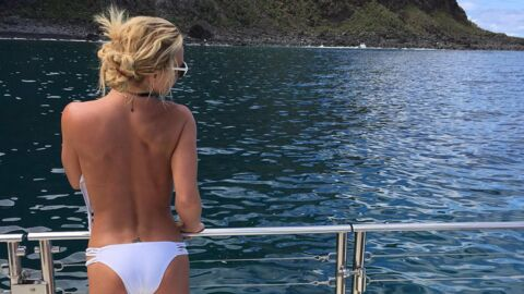 PHOTO Britney Spears pose topless (et affiche un corps toujours plus mince)