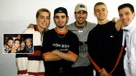 PHOTO Justin Timberlake et les NSYNC se retrouvent 20 ans après leurs débuts