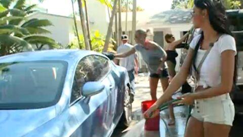 VIDEO Le nouveau car wash de Nabilla dans les Anges