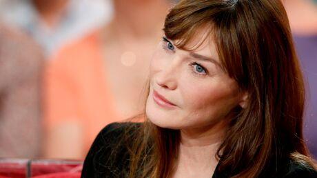 Carla Bruni s'exprime pour la première fois sur l'affaire Hollande-Gayet