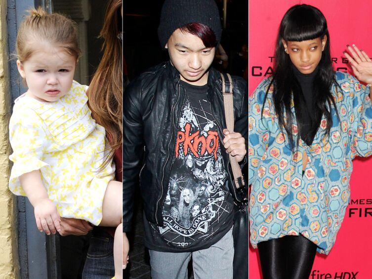 DIAPO Harper Beckham, Maddox Jolie-Pitt… Qui est l'enfant de star le plus stylé?