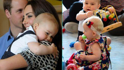 PHOTOS Le prince George se fait des amis sous les yeux de Kate et William