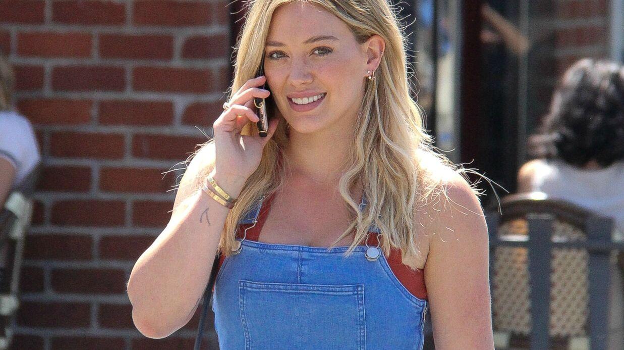 PHOTO Hilary Duff publie un cliché étonnant d'elle enfant
