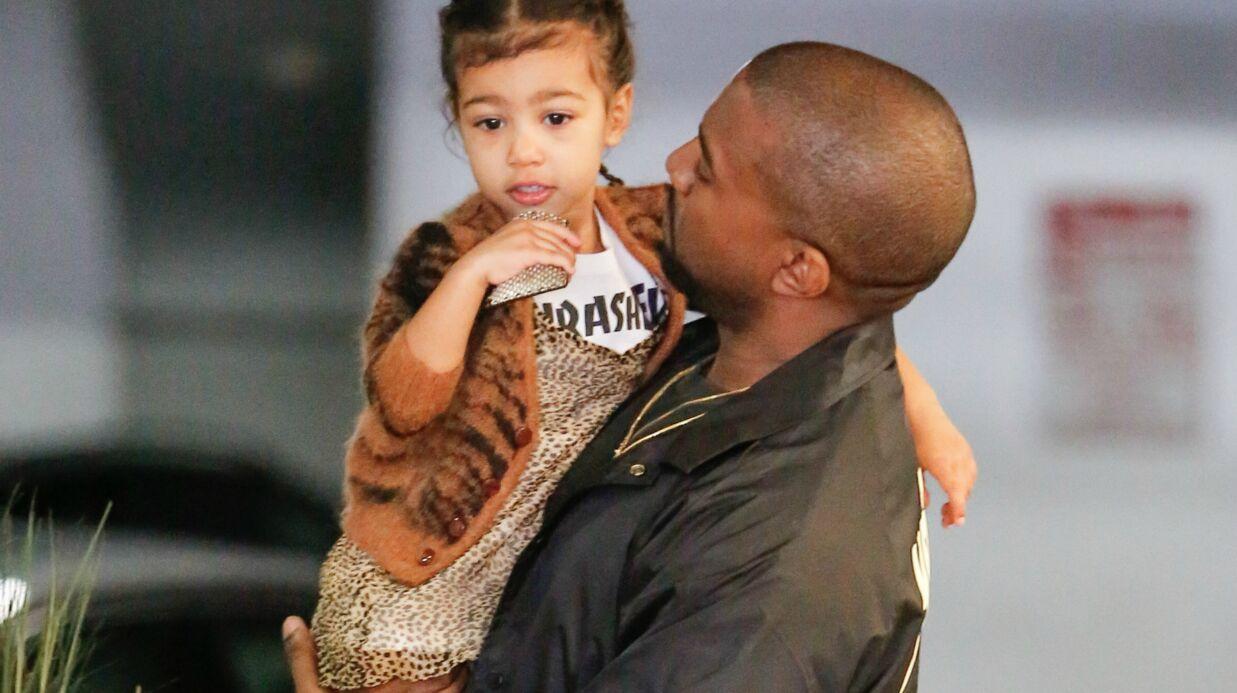 North West: à seulement deux ans, la fille de Kim Kardashian porte déjà des extensions