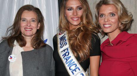 PHOTOS Valérie Trierweiler, Miss France 2015 et M Pokora réunis pour le Secours populaire