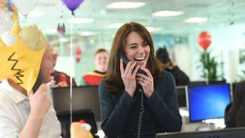 PHOTOS Kate Middleton hilare comme jamais durant un événement de charité