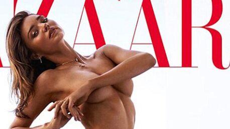 PHOTO Miranda Kerr pose toute nue pour le Harper's Bazaar australien
