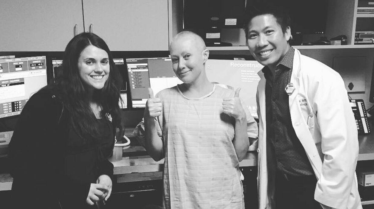 PHOTO Shannen Doherty: son message à son équipe médicale avant une séance de radiothérapie