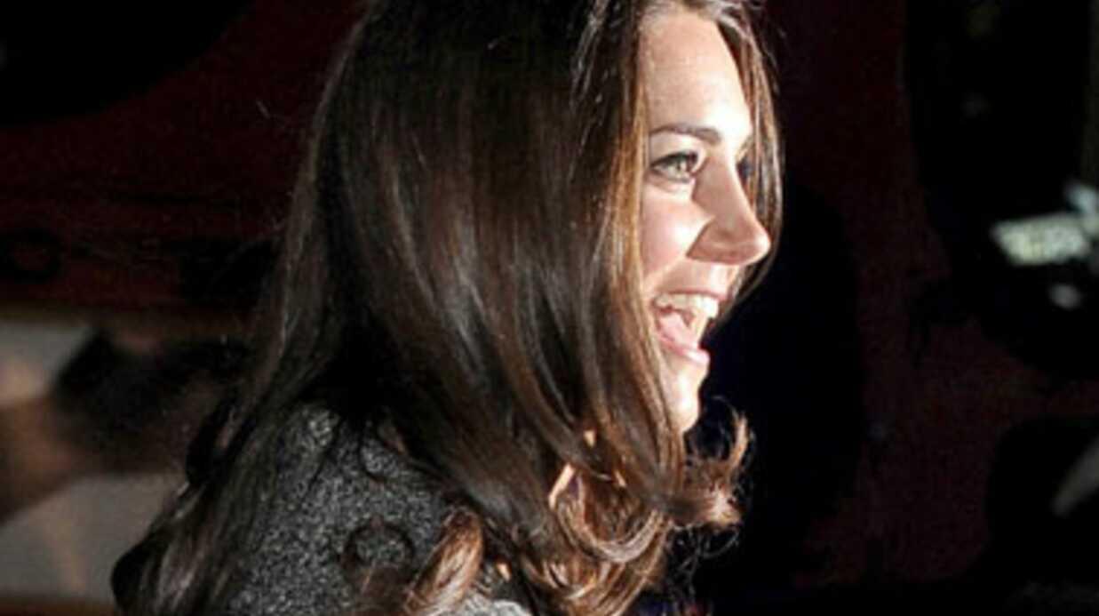 PHOTOS La première sortie officielle de Kate Middldeton sans William