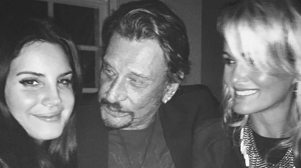 PHOTO Johnny Hallyday a invité Lana Del Rey à dîner chez lui
