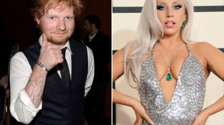 Grammy Awards: Lady Gaga confond Ed Sheeran avec un serveur