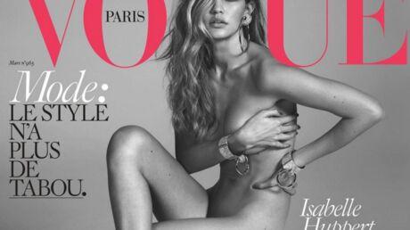 Gigi Hadid pose nue pour la couverture du Vogue