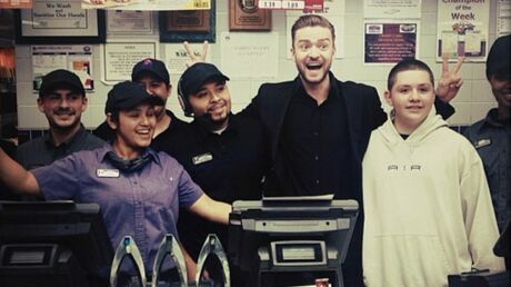 PHOTOS Justin Timberlake fête sa victoire aux People's Choice Awards au…fast food