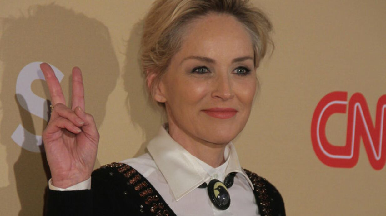 PHOTO Sharon Stone : A 57 ans, elle pose sans maquillage