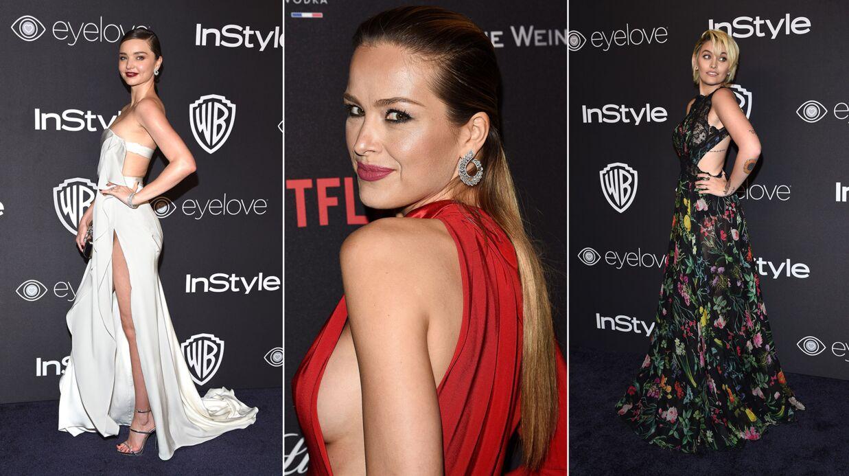 PHOTOS Miranda Kerr et Petra Nemcova se dévoilent, Paris Jackson élégante pour les Golden Globes