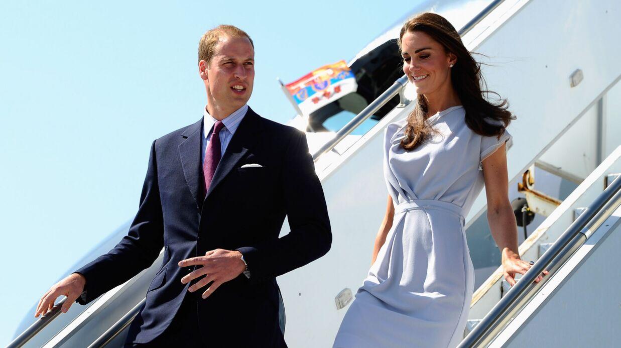 Prince William et Kate Middleton: atterrissage en Californie