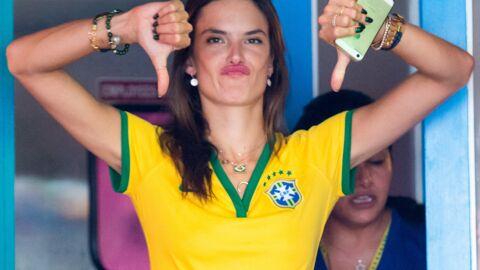 PHOTOS Alessandra Ambrosio et Adriana Lima dépitées devant le match du Brésil
