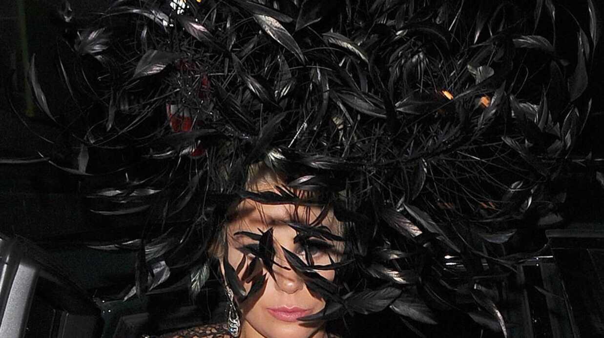 PHOTOS La tenue très (très) osée de Lady Gaga à Londres