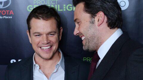 Ben Affleck: pour fêter son amitié avec Matt Damon, il publie de drôles de photos