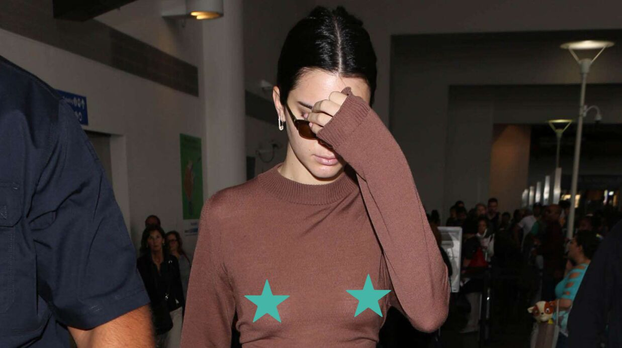 PHOTOS Kendall Jenner en montre trop avec une tenue transparente