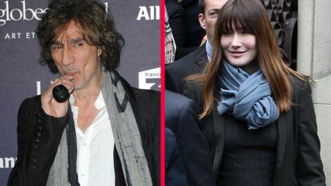 Louis Bertignac a hâte que Carla Bruni reprenne sa carrière