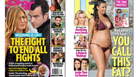 En direct des US: Kim Kardashian enceinte et en bikini