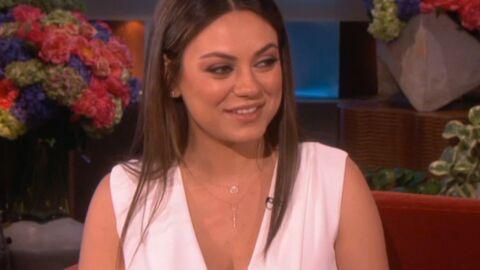 Mila Kunis veut accoucher de manière naturelle
