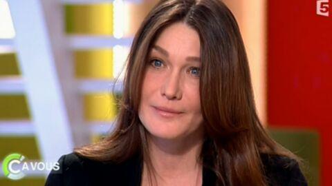 Carla Bruni s'inquiète pour la santé de Nicolas Sarkozy