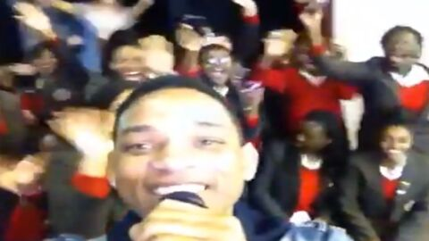 VIDEO La visite surprise de Will Smith dans une école