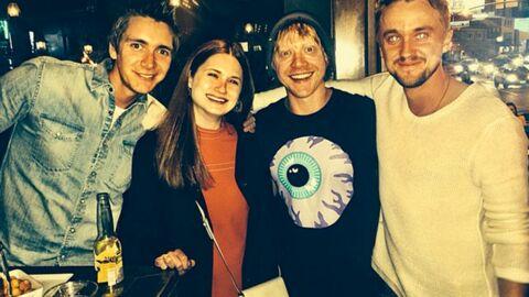 PHOTO Harry Potter: Drago Malefoy pactise avec la famille Weasley