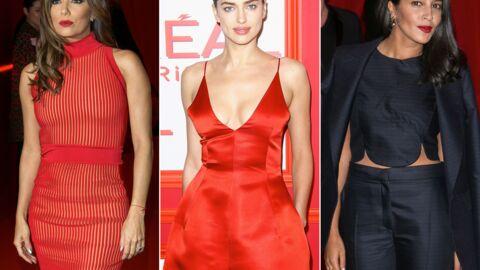 PHOTOS Eva Longoria, Irina Shayk, Leïla Bekhti sublimes et sexy à la soirée L'Oréal Red