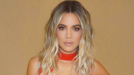 PHOTO Khloé Kardashian: plus sexy que jamais, elle prend la pose en robe ultra décolletée