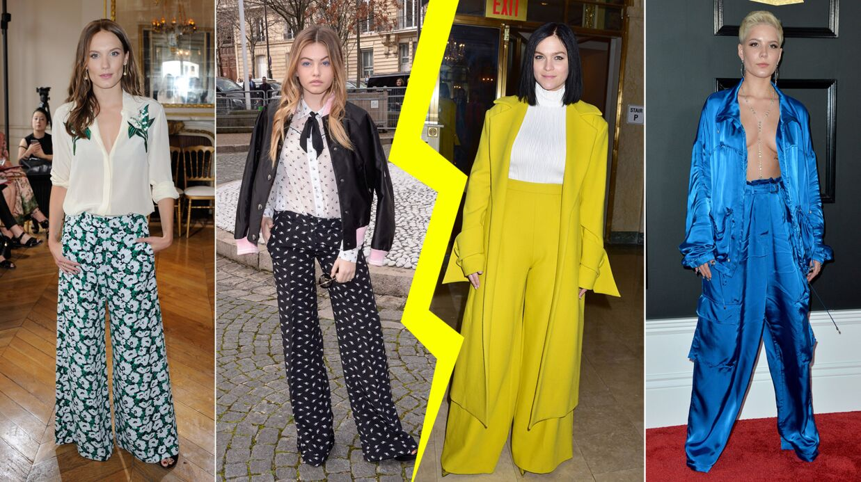 MODE Les do & don'ts de la semaine : les stars en pantalon large