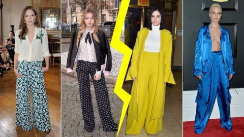 MODE Les do & don'ts de la semaine: les stars en pantalon large