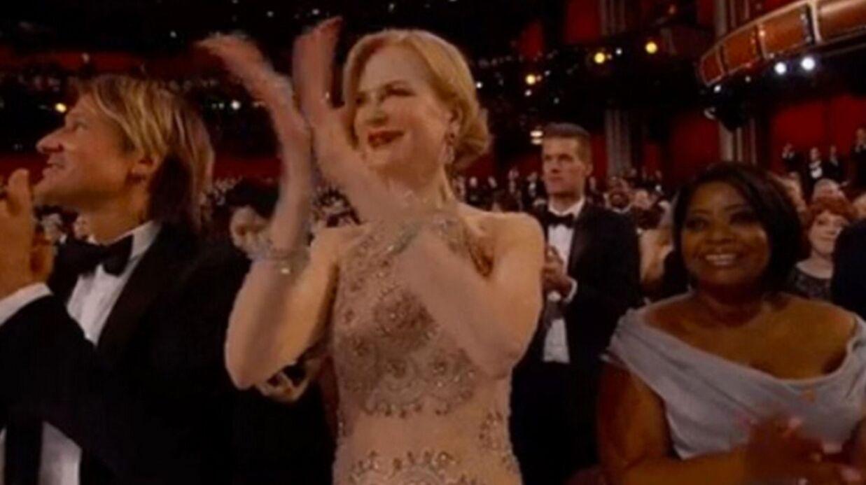 Nicole Kidman explique sa façon très étrange d'applaudir aux Oscars