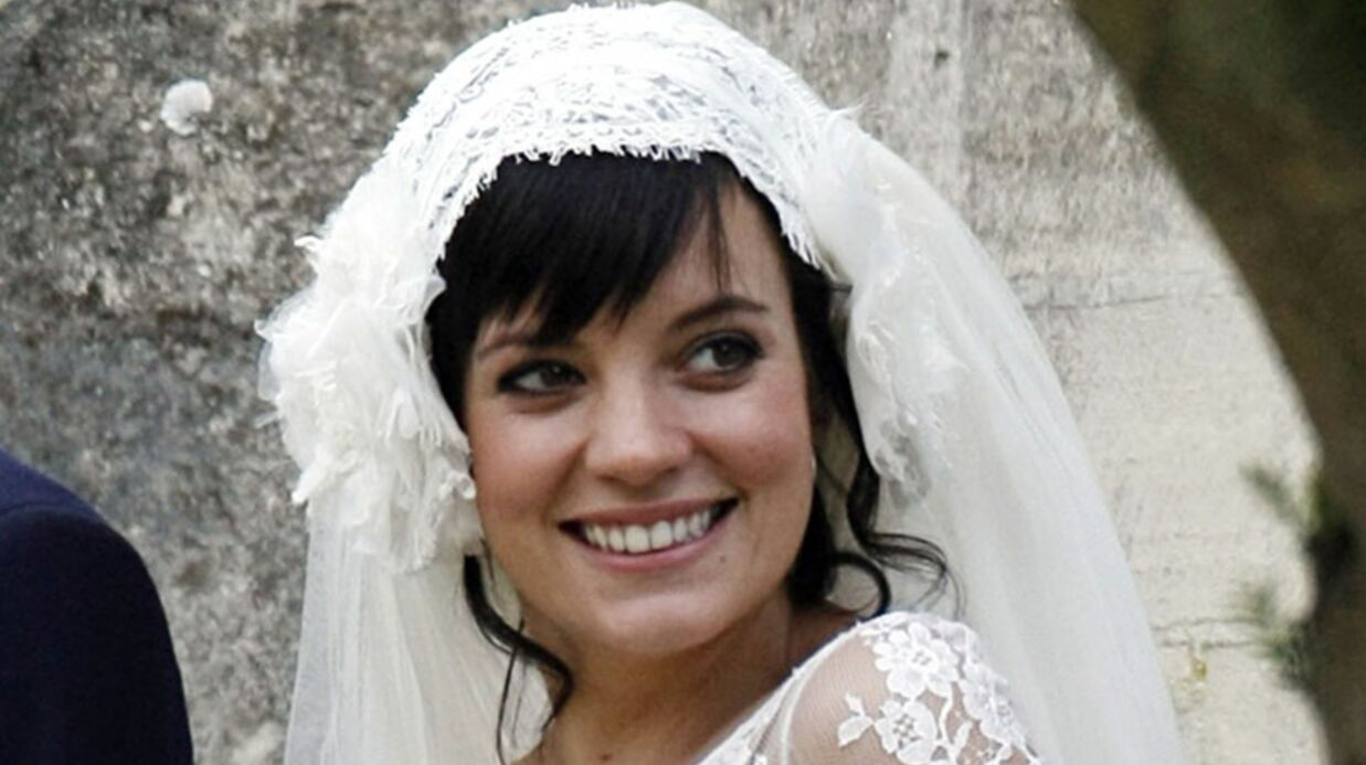 Lily Allen: sa robe de mariée en vente sur la Redoute?