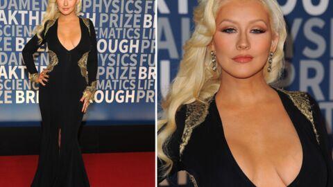 Christina Aguilera: son décolleté impressionnant pour la cérémonie des BPA