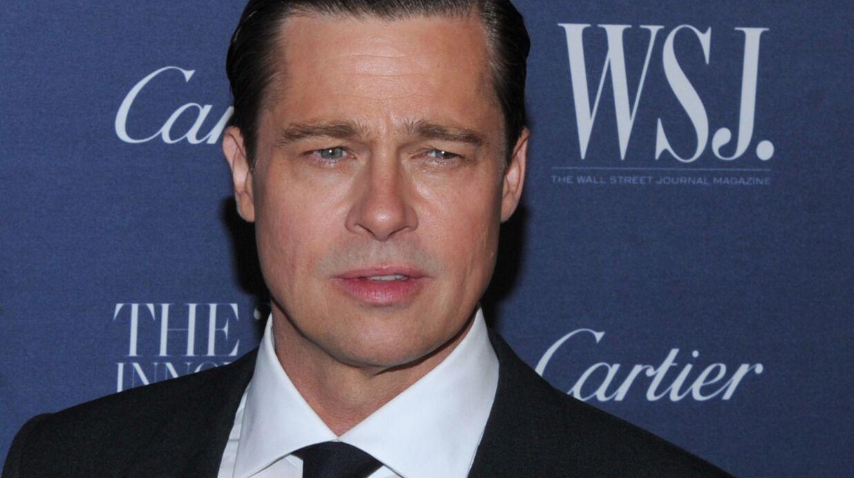 PHOTO Brad Pitt très TRES maigre pour sa première sortie en public après son divorce avec Angelina Jolie