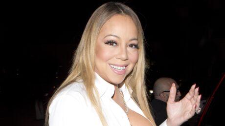PHOTO Mariah Carey s'affiche en décolleté sexy et TRES plongeant