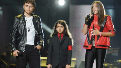 VIDEO Michael Jackson : ses enfants à son concert hommage
