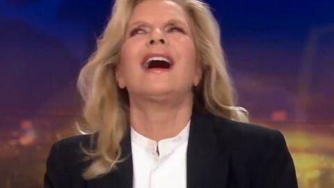 VIDEO Sylvie Vartan a un rire très, très étrange