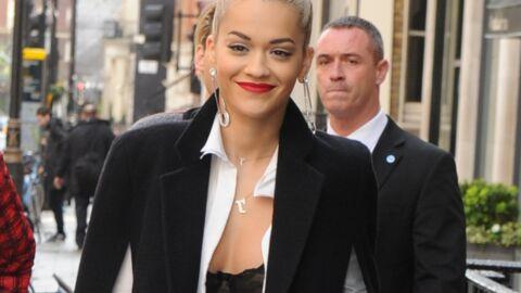 PHOTOS Rita Ora à moitié nue dans les rues de Londres