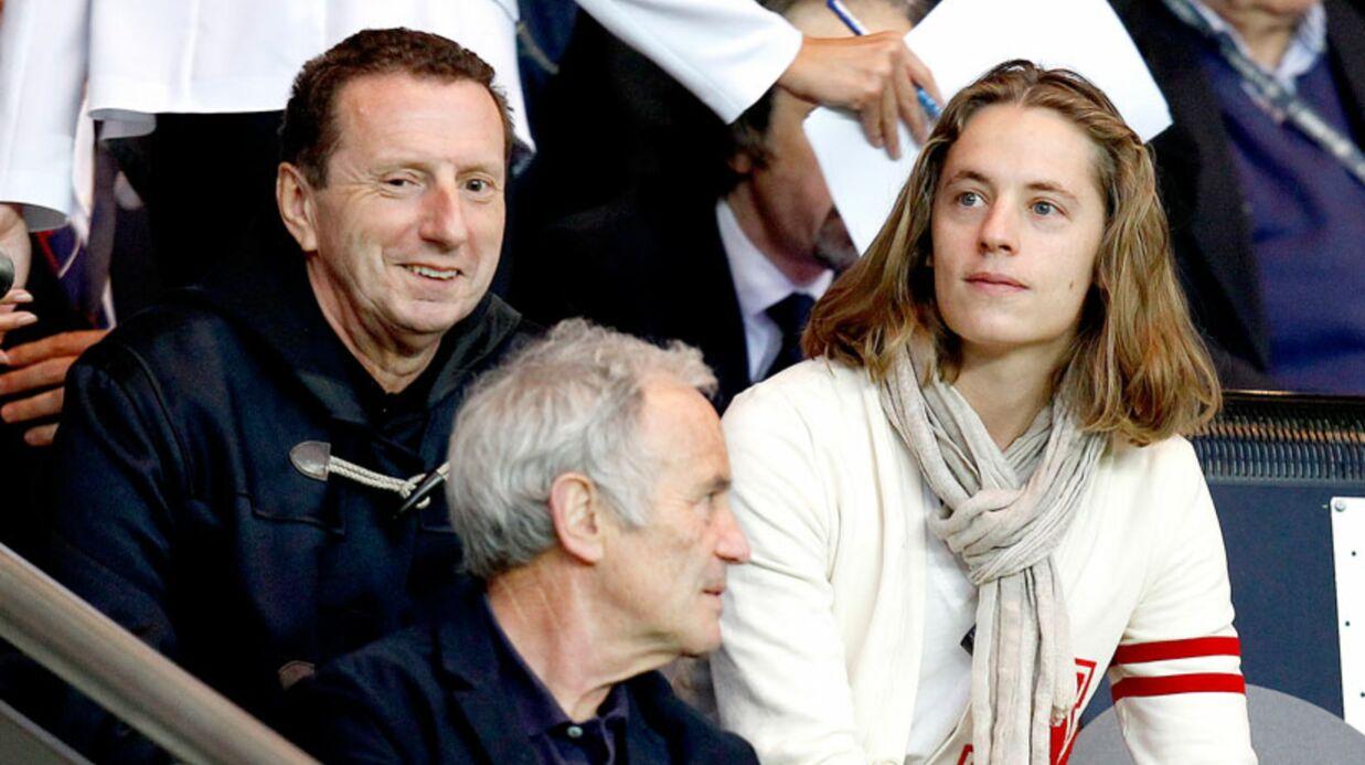 Pierre Sarkozy participe à l'entraînement de l'OL
