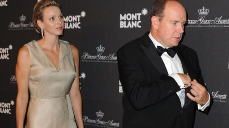 DIAPO Albert II de Monaco et Charlène Wittstock très heureux