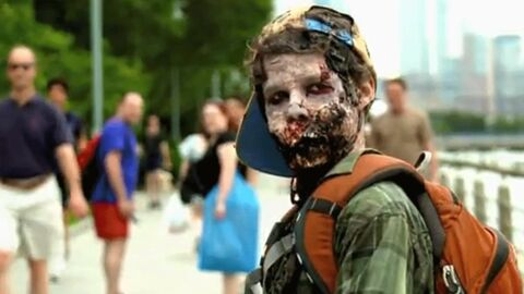 The Walking Dead: des zombies envahissent New York en vrai