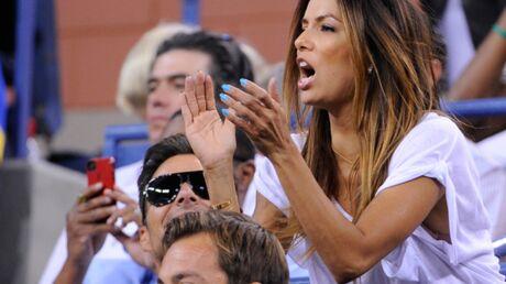 DIAPO Eva Longoria s'éclate à l'US Open avec Ricky Martin
