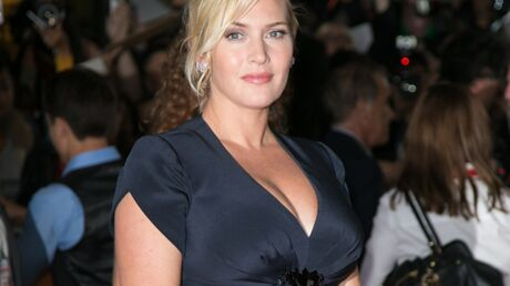 DIAPO Kate Winslet montre son ventre de future maman